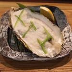 御料理武蔵野 - 牡蠣の養老蒸し