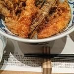 天ぷら新宿つな八 - 昼天丼 1月再訪問時