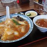 大雄 - お祝い激辛中華丼(¥700)