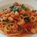 イタリア料理のお店 ラ サラ  - 魚介の……なんだっけ(。>д<)
