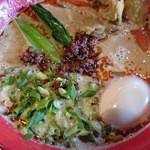 46773417 - タンタン麺+極旨味玉