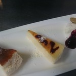 Daiju - チーズケーキプレート
