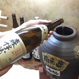 【50種類以上】旨い焼酎は鹿児島県に。滅多に味わえない焼酎も