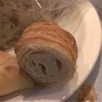 Boulangerie 粉桜 - クロワッサンの中が半焼け?