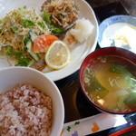 のみくい処ひさし君 - 料理写真:ランチ(焼き魚\500税込み)目鯛