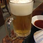 かたしな高原ホテル - ドリンク写真:生ビール