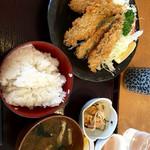 46779581 - いわしフライ定食