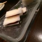 46779699 - H28.1月 自家製スモークチーズと大根のサンド♡
