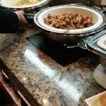 オールデイブッフェ コンパス - 炒飯、本日のパスタ