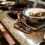 オールデイブッフェ コンパス - 回鍋肉、餃子、春巻等の中華コーナー