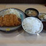 とんかつ山本 - サービス定食B(とんかつ)800円(税込)