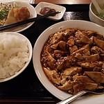 Haruka - 【2016年1月25日】麻婆豆腐定食