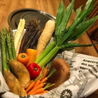 野菜を焼くと味わい深い「お野菜」に