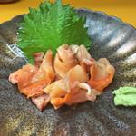 天ぷら 筧 - 赤貝刺身