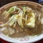 星野ラーメン店 - 野菜たっぷりちゃんぽん麺