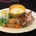 46784179 - スペシャルランチ② サラダ・スープ・メイン