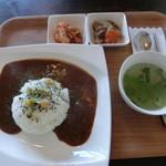 かんカフェ - カレーランチ・980円