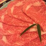 人形町今半 新宿第一生命ビル店  - 牛肉 2人前