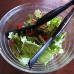 パパチャチャ - ランチサービスの サラダ。