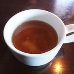 パパチャチャ - ランチサービスの スープ。