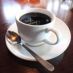 パパチャチャ - ランチサービスでお願いした コーヒー。