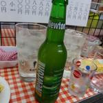 立ち呑み 美よ志 - ニュートン青りんごビール440円(税込)
