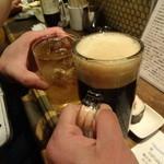 ライオン堂 - ハーフ&ハーフで乾杯!