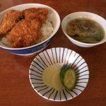 太洋軒 - 料理写真:ソースかつ丼650円