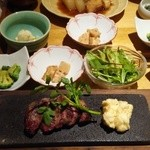 46787259 - 牛ヒレ肉の石焼き御膳 1830円