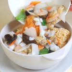 中国家庭料理 聚 - 海鮮おこげ