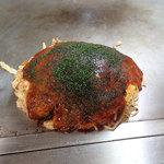 花火 - 「広島風お好み焼き 肉・玉子・そば」(700円)