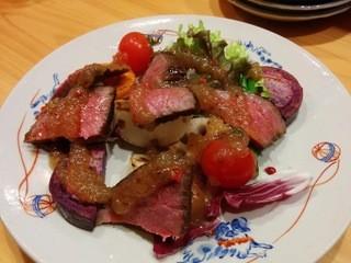 旬肴 料理人 裕 - ローストビーフ