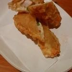 海鮮&ダイニング トルバドール - 海老とチーズの春巻き天ぷら