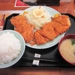 46792599 - チキンカツ定食