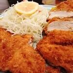 46792606 - チキンカツ定食の「チキンカツ」