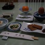 46793454 - 宿の朝ご飯