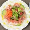 A.スペイン産生ハムのサラダ ヘーゼルナッツ風味