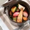 旬野菜のココット蒸し焼き