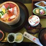 46794806 - チラシ寿司定食