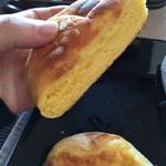 バターフレーク - カボチャメロンパン