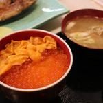 46798573 - 二色丼(ミニ)(,850円)