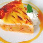 レストラン天城 - サックサクのアップルパイ