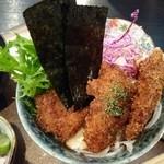 GYO2 - まぐろのほほ肉のソースかつ丼 1,080円