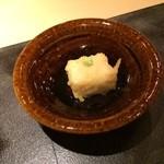 ぎんざ 一二岐 - 胡麻豆腐