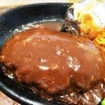 肉の万世 本店 - ハンバーグUP