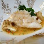 モナリザ - 2016年1月:ヤヒロ丸直送的鯛のフライ オレンジ風味のブイヤベース