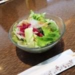 肉の万世 本店 - サラダ