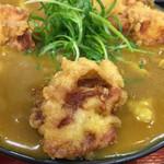 極楽うどん TKU - 当然、鶏天が一番のお気に入り(笑)(o^^o)