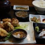 海邦丸 - 山原若鳥から揚げセット1380円