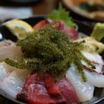 海邦丸 - 海ブドウ海鮮丼1580円